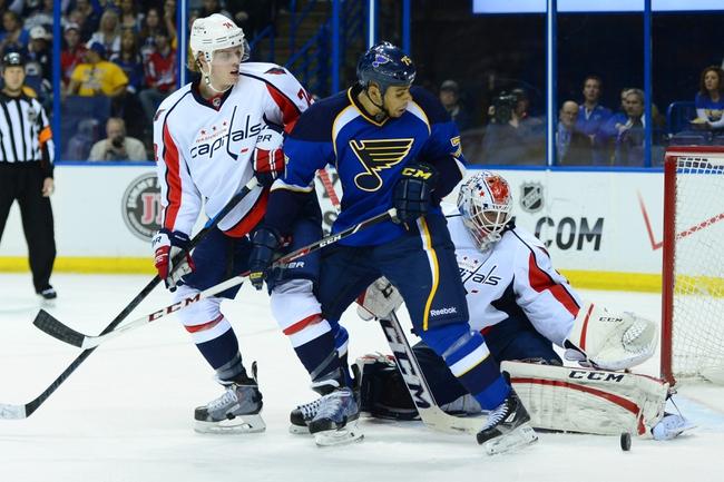 St. Louis Blues vs. Washington Capitals - 11/15/14 NHL Pick, Odds, and Prediction