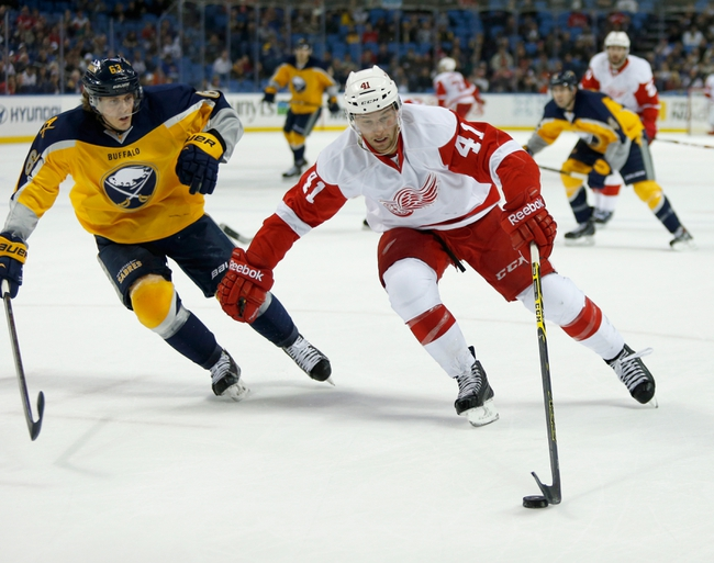Buffalo Sabres vs. Detroit Red Wings - 11/2/14 NHL Pick, Odds, and Prediction