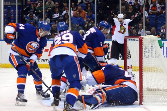 Islanders vs. Senators - 12/2/14 NHL Pick, Odds, and Prediction
