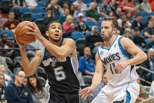 Minnesota Timberwolves vs. San Antonio Spurs - 11/21/14 NBA Pick, Odds, and Prediction