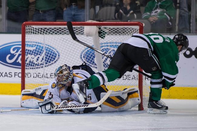 Nashville Predators vs. Dallas Stars - 10/11/14 NHL Pick, Odds, Prediction