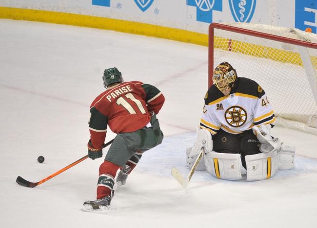 Boston Bruins vs. Minnesota Wild - 10/28/14 NHL Pick, Odds, and Prediction