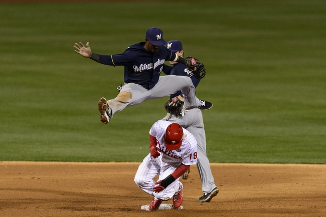 Philadelphia Phillies vs. Milwaukee Brewers Pick-Odds-Prediction - 4/10/14