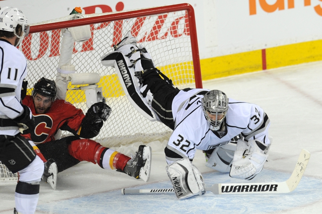 Los Angeles Kings vs. Calgary Flames - 12/22/14 NHL Pick, Odds, and Prediction