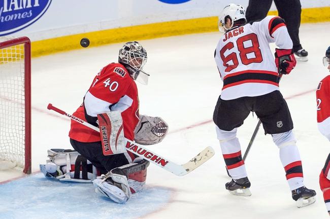Ottawa Senators vs. New Jersey Devils - 10/25/14