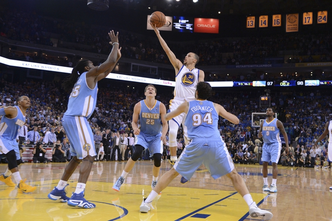 Golden State Warriors vs. Denver Nuggets 10/16/14 NBA Preseason Pick, Odds, Prediction