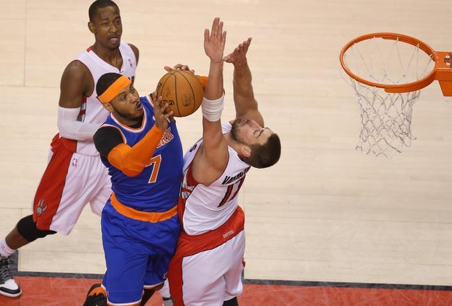 Toronto Raptors vs. New York Knicks - 12/21/14 NBA Pick, Odds, and Prediction