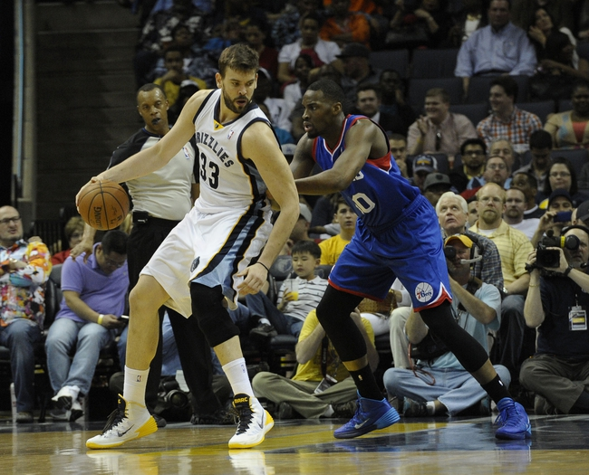 76ers vs. Grizzlies - 12/13/14 NBA Pick, Odds, and Prediction