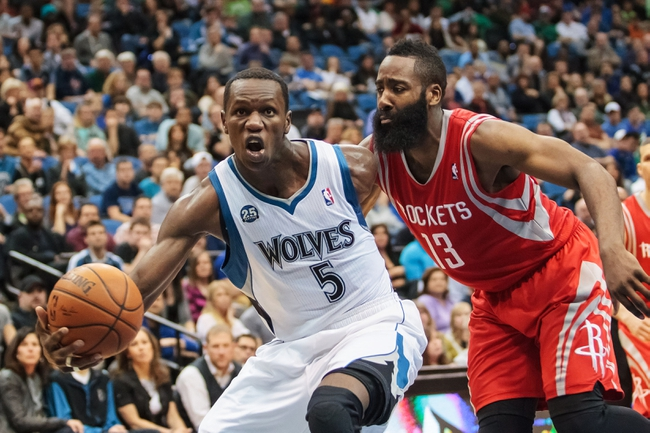 Minnesota Timberwolves vs. Houston Rockets - 11/12/14 NBA Pick, Odds, and Prediction