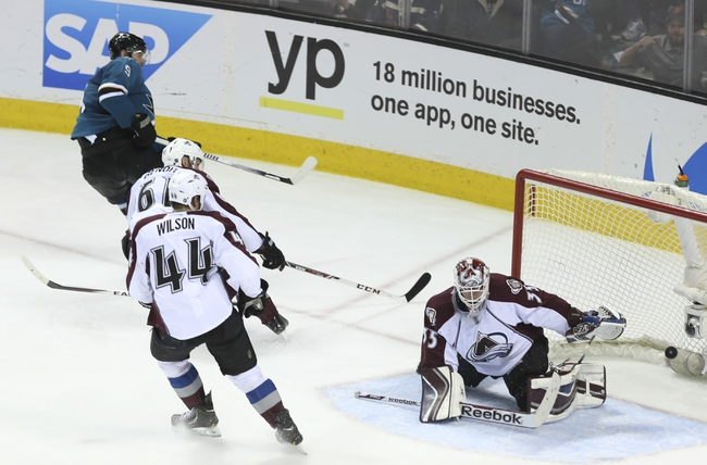 Colorado Avalanche vs. San Jose Sharks - 10/28/14 NHL Pick, Odds, and Prediction