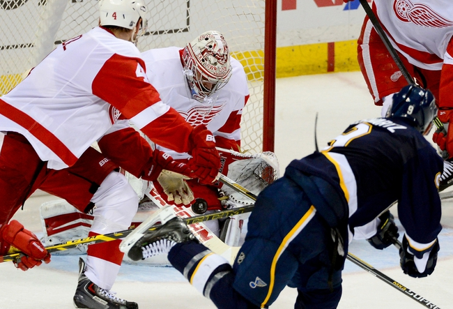St. Louis Blues vs. Detroit Red Wings - 1/15/15 NHL Pick, Odds, and Prediction