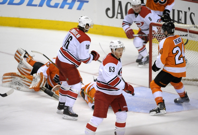 Flyers vs. Hurricanes - 12/13/14 NHL Pick, Odds, and Prediction