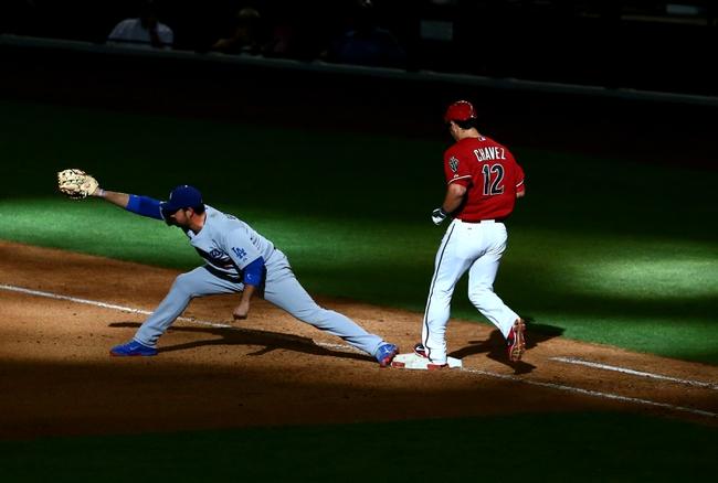 Los Angeles Dodgers vs. Arizona Diamondbacks - 4/18/14