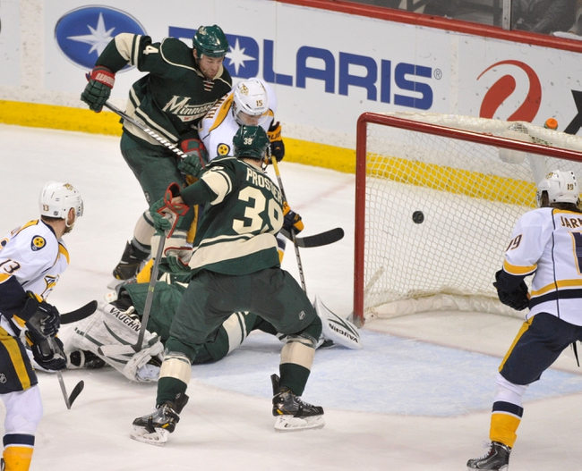 Minnesota Wild vs. Nashville Predators - 12/20/14 NHL Pick, Odds, and Prediction