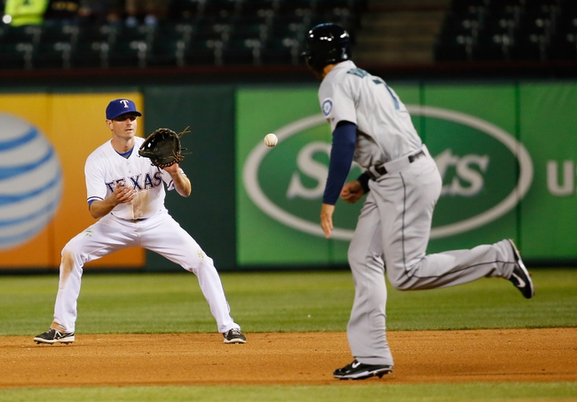 Texas Rangers vs. Seattle Mariners - 4/15/14