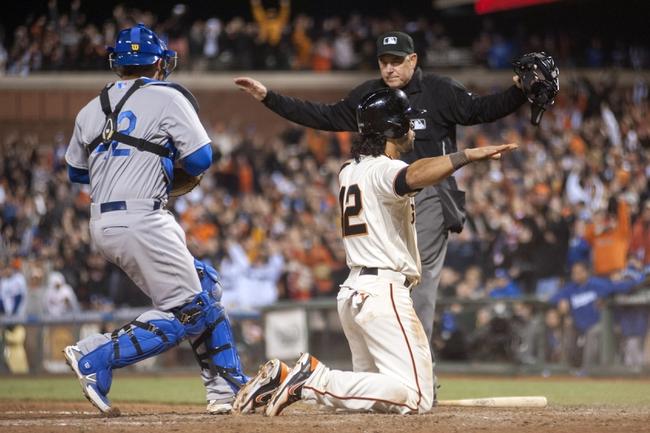 San Francisco Giants vs. Los Angeles Dodgers - 4/16/14