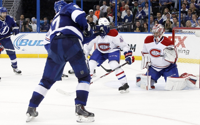 Tampa Bay Lightning vs. Montreal Canadiens - 4/18/14
