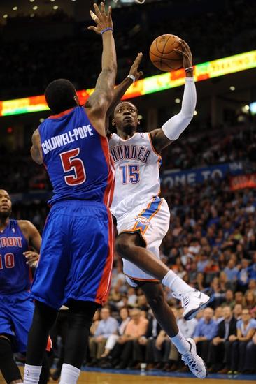 Oklahoma City Thunder vs. Detroit Pistons - 11/14/14 NBA Pick, Odds, and Prediction