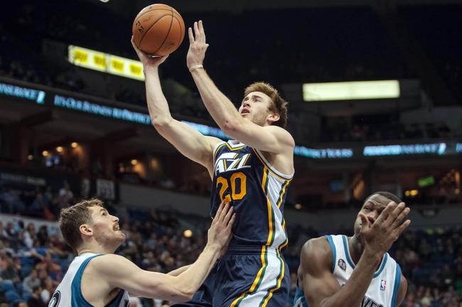 Utah Jazz vs. Minnesota Timberwolves - 12/30/14 NBA Pick, Odds, and Prediction