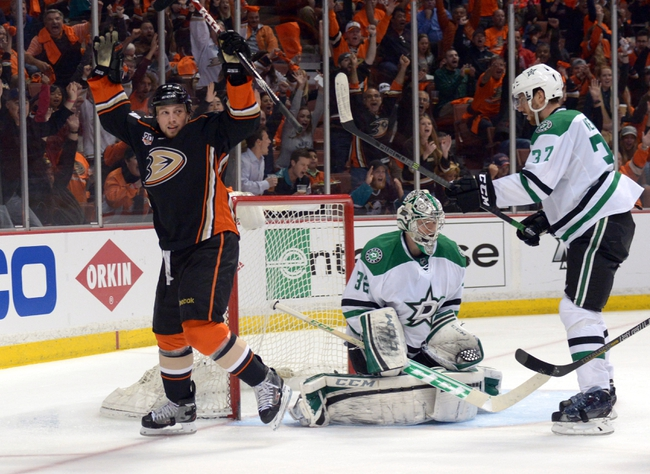 Anaheim Ducks vs. Dallas Stars - 4/18/14