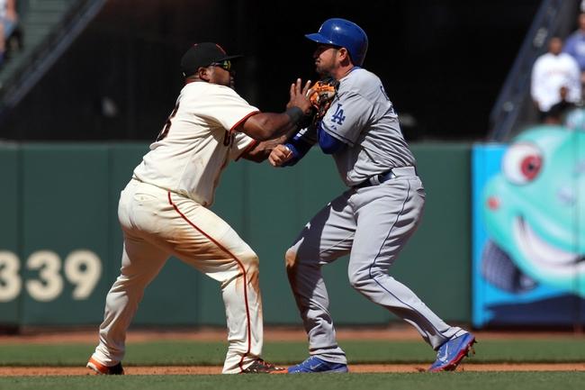 Los Angeles Dodgers vs. San Francisco Giants MLB Pick, Odds, Prediction - 5/8/14