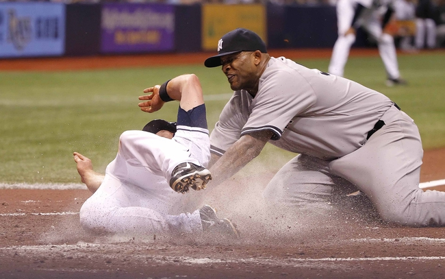 Tampa Bay Rays vs. New York Yankees - 4/18/14