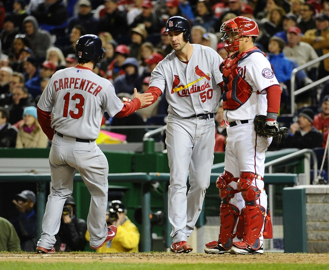 Washington Nationals vs. St. Louis Cardinals MLB Pick, Odds, Prediction 4/18/14