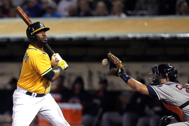 Oakland Athletics vs. Houston Astros - 4/19/14