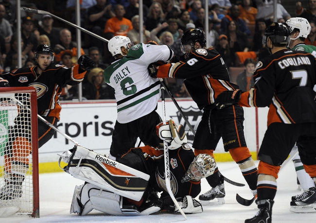 Dallas Stars vs. Anaheim Ducks - 4/21/14
