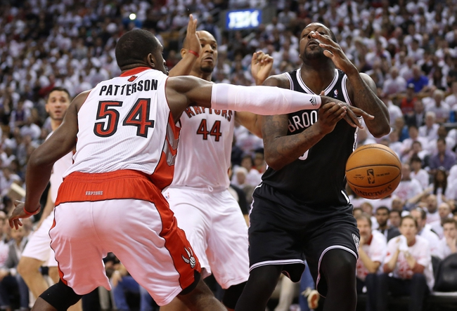 Brooklyn Nets at Toronto Raptors NBA Pick, Odds, Prediction - 4/22/14 Game Two