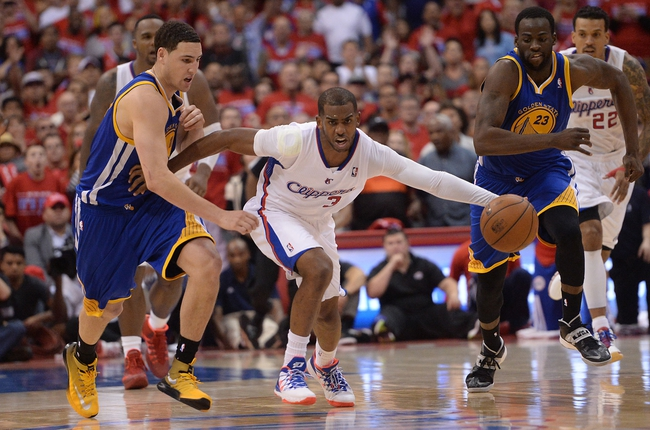 Golden State Warriors at Los Angeles Clippers - 4/21/14 Game Two
