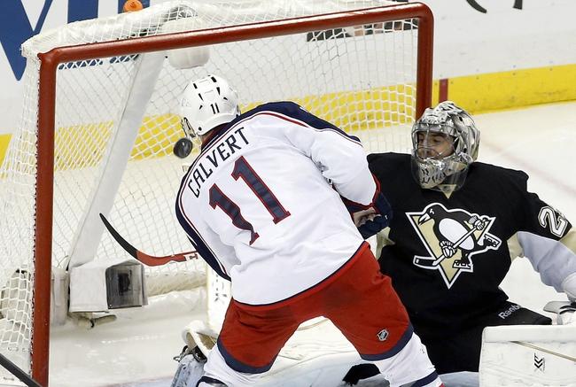Columbus Blue Jackets vs. Pittsburgh Penguins - 4/21/14