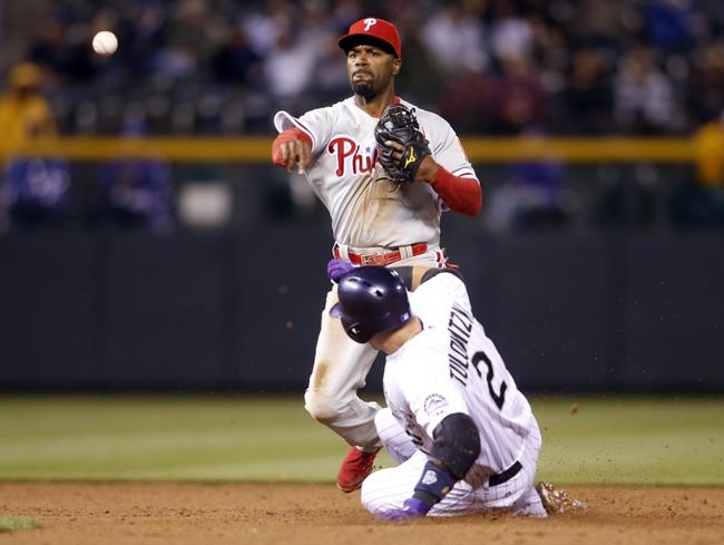 Philadelphia Phillies vs. Colorado Rockies MLB Pick, Odds, Prediction - 5/26/14