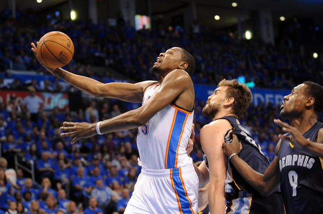 NBA Playoffs Oklahoma City Thunder vs. Memphis Grizzlies Pick, Odds, Prediction 4/21/14