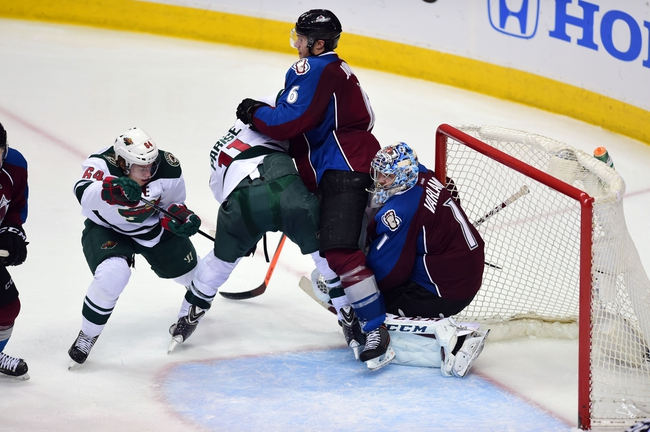 Minnesota Wild vs. Colorado Avalanche - 4/21/14