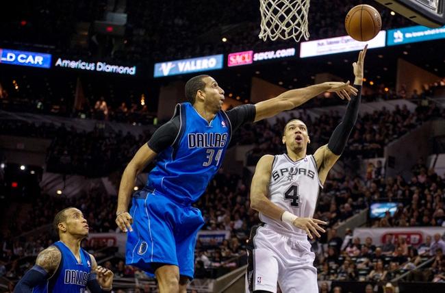 Dallas Mavericks at San Antonio Spurs NBA Pick, Odds, Prediction - 4/23/14 Game Two