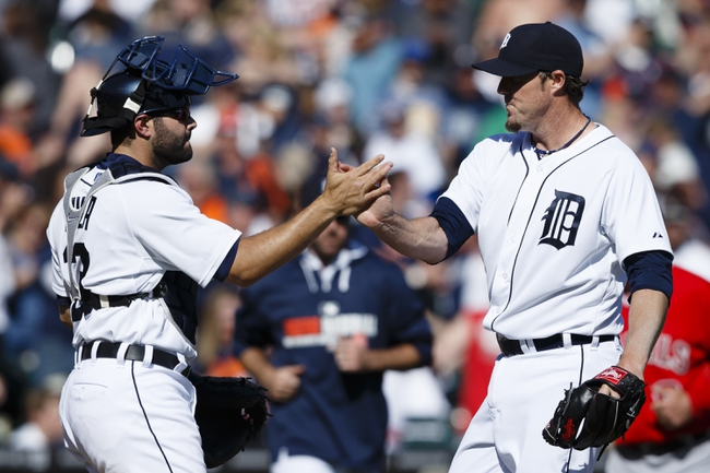 Los Angeles Angels vs. Detroit Tigers Pick-Odds-Prediction - 7/24/14