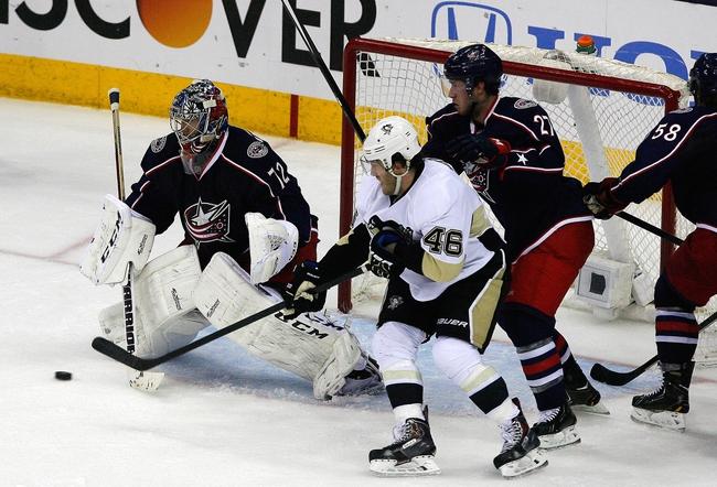 Columbus Blue Jackets vs. Pittsburgh Penguins - 4/23/14