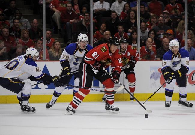 Chicago Blackhawks vs. St. Louis Blues - 4/23/14
