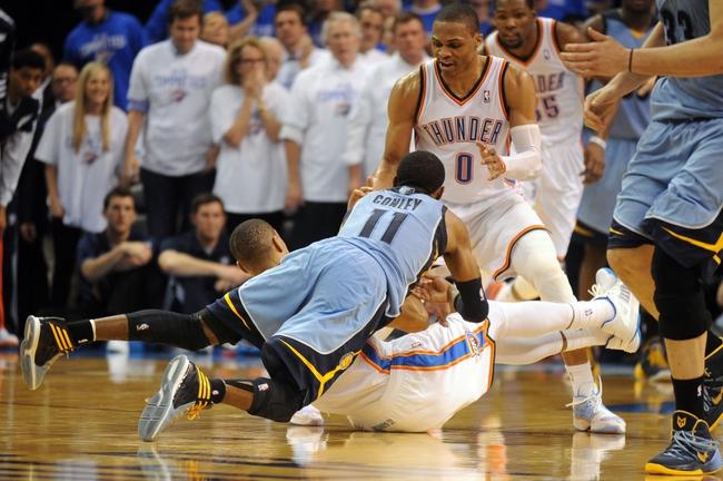 Oklahoma City Thunder at Memphis Grizzlies NBA Pick, Odds, Prediction - 4/24/14 Game Three