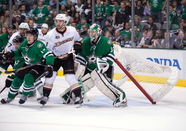 Dallas Stars vs. Anaheim Ducks - 4/23/14