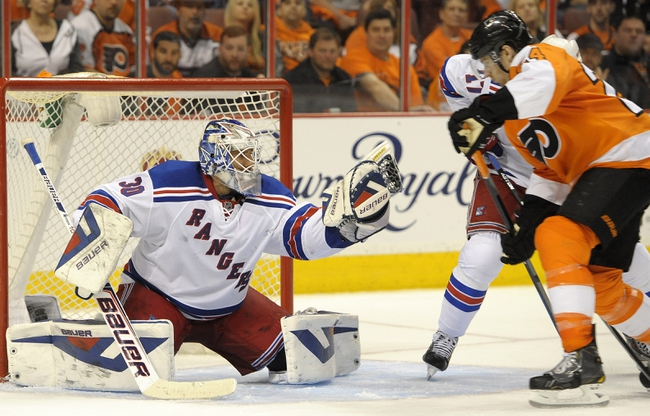 New York Rangers at Philadelphia Flyers Pick-Odds-Prediction - 4/25/14