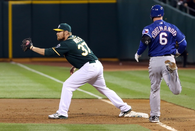 Oakland Athletics vs. Texas Rangers MLB Pick, Odds, Prediction - 4/23/14