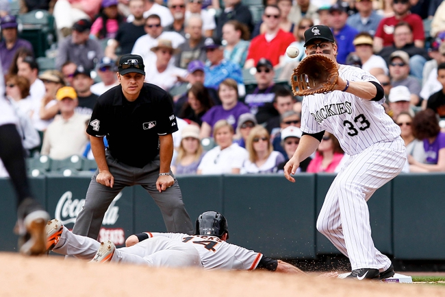 Colorado Rockies vs. San Francisco Giants Pick-Odds-Prediction - 5/20/14