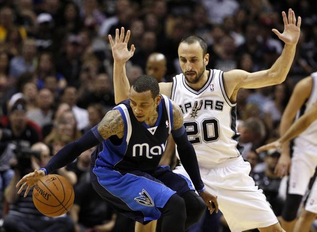San Antonio Spurs at Dallas Mavericks NBA Pick, Odds, Prediction - 4/26/14 Game Three