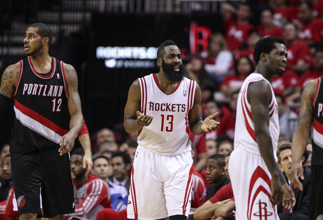 Houston Rockets at Portland Trail Blazers NBA Pick, Odds, Prediction - 4/25/14 Game Three