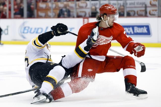 Detroit Red Wings at Boston Bruins Pick-Odds-Prediction - 4/26/14