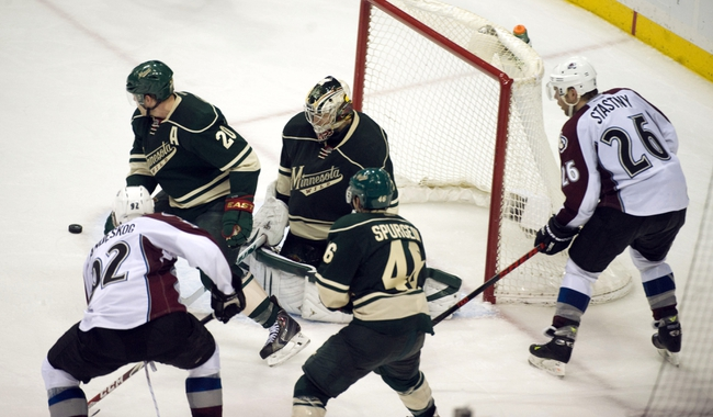 Colorado Avalanche vs. Minnesota Wild NHL Playoffs 4/26/14