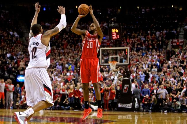 Houston Rockets vs. Portland Trail Blazers - 4/27/14