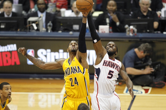 Atlanta Hawks vs. Indiana Pacers - 5/1/14